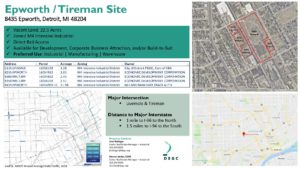 Epworth/Tireman Site