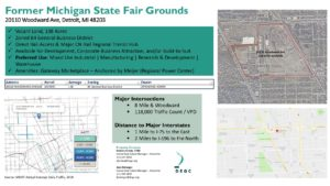 Former Michigan State Fair Grounds